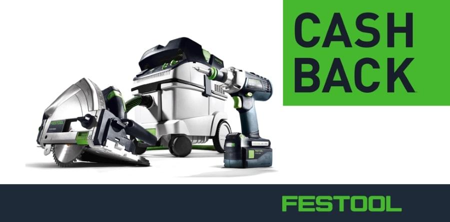 Festool Cash Back Aktion 2019
