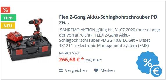 Flex 2-Gang Akku-Schlagbohrschrauber PD 2G