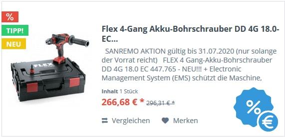 Flex 4-Gang Akku-Bohrschrauber DD 4G 18.0-EC