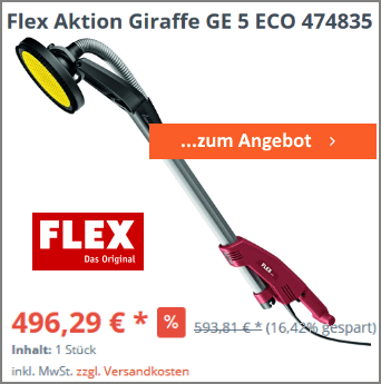 Flex Aktion Giraffe GE 5 ECO 474835