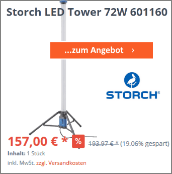 Storch LED Tower 72W 601160