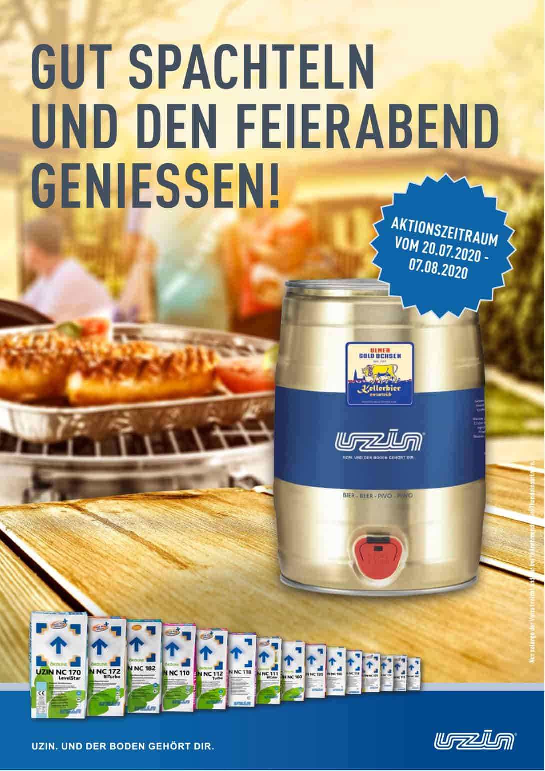UZIN_Flyer_Promotion_Bierfass Bild 1